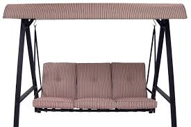 Patio Swing Covers Replacements Mainstays 3 Person Swing Canopy For Ms 12 092 021 07 The Outdoor