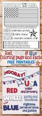 red white u0026 blue hooray for the usa printables inkhappi