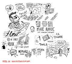 notes on the vizthink visual notetaking 101 webinar