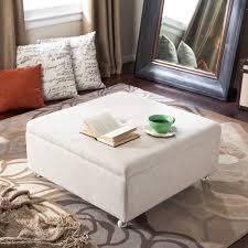 Leather Storage Ottoman Coffee Table Decorating Idea From Stylish Leather Ottoman Coffee Table U2013 Coffee