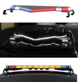 federal signal vision slr led light bar with dual color and