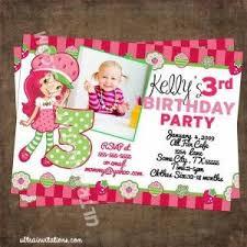 94 best strawberry shortcake invitations images on pinterest