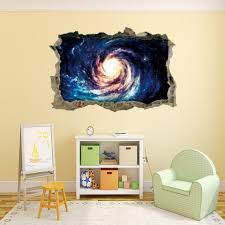 home decor 3d stickers colormix home decoration 3d black hole vortex removable wall