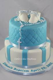 Centerpieces For Boy Baptism by Best 25 Boys Christening Cakes Ideas On Pinterest Christening