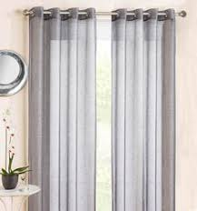 Curtains With Rings At Top Details About Ring Top Eyelet Voile Curtain Panel Marrakesh