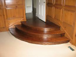 red oak curved staircase treads and riser kashian bros carpet