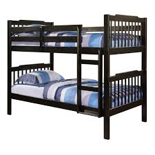 Viv Rae Theodore Twin Bunk Bed  Reviews Wayfair - Twin bunk bed dimensions