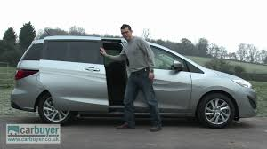 mazda5 mazda5 mpv review carbuyer youtube