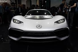 2017 frankfurt auto show mercedes amg project one with over 1 000 hp
