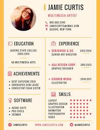 artist resume templates minimal multimedia artist resume templates by canva