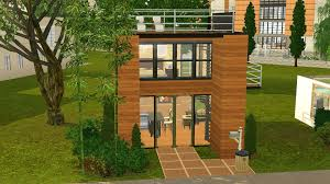 mod the sims tiny house series couple modern