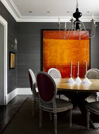 expert talk treat the eyes to dining room wallpaper