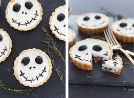 halloween jack skellington ricotta olive tarts snixy kitchen