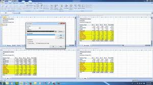 merge multiple excel files into a summary file where headings