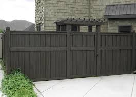 Gate For Backyard Fence Best 25 Grey Fence Paint Ideas On Pinterest Small Garden Bench