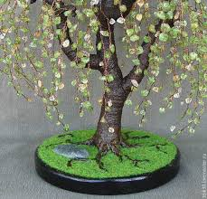 the weeping willow tree of peridot and citrine shop on