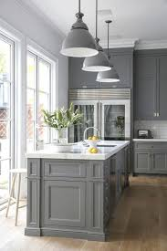 grey kitchen cabinets and black countertops 20 best and light grey kitchen cabinet ideas