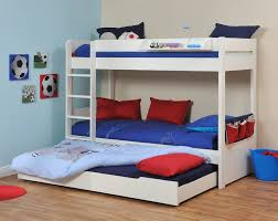 Bunk Bed With Trundle And Drawers Bunk Bed With Trundle Furniture Trundle Bed