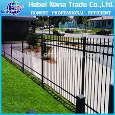 Types Of Garden Fences - different types of aluminum garden fence yard guard fence