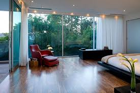 wonderful white wood glass cool design modern house interior