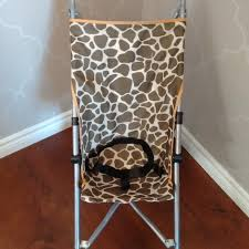 find more babies r us giraffe print umbrella stroller for sale at