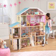 The Coolest Barbie House Ever by Amazon Com Kidkraft Majestic Mansion Dollhouse Toys U0026 Games