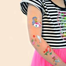 flash tattoos jewelry inspired metallic temporary tattoos