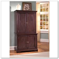 Computer Armoires For Small Spaces by Armoire Pottery Barn Computer Desk Armoire Antique Walnut Knock