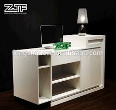 Height Of Reception Desk Remarkable Free Standing Reception Desk Custom Standing Height