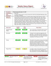 weekly report template ppt weekly status report form word format ppt best project template