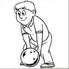bowling pin coloring page 28 images bowling coloring pages