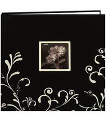magnetic photo album acid free pioneer 8 inch by 8 inch postbound embroidered