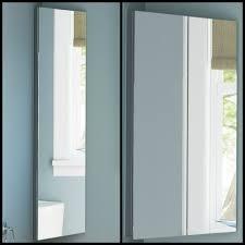 wall mounted white bathroom corner cabinet mirror storage unit