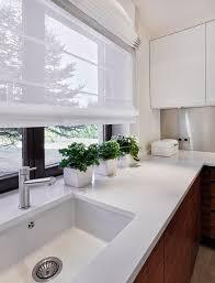 rideaux pour cuisine moderne 55 rideaux de cuisine et stores pour habiller les fenêtres de