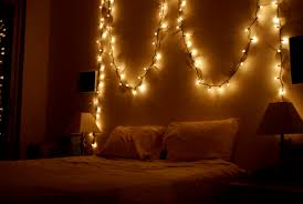 bedroom with christmas lights house design and planning