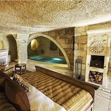 room with a pool at kayakapı premium caves and suites in