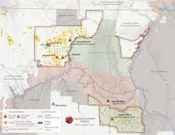 Map Of Active Volcanoes In The United States by Grand Canyon Uranium Mining