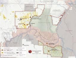 Arizona Time Zone Map by Grand Canyon Uranium Mining