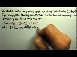 ap physics 1 rotation 34 angular impulse problem