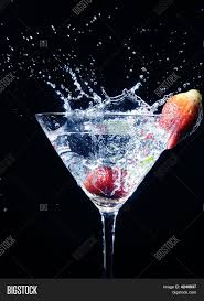 cocktail splash strawberry martini cocktail splash image u0026 photo bigstock