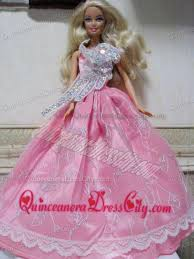 pretty rose pink princess dress with embroidery made to fit the