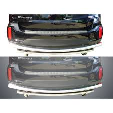 nissan rogue rear bumper 14 15 kia sorento rear bumper guard double layer s s