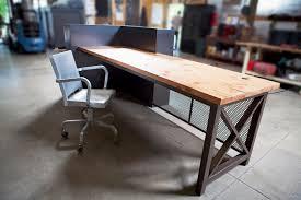 Metal Reception Desk Custom Work U2014 John Beck Steel
