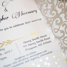 polka dots invitations luxury gold glittery cupid s arrow polka dots laser cut wedding