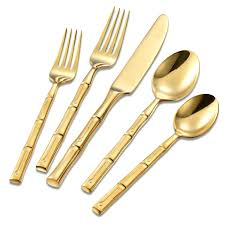 gold flatware rental gold flatware walmart plated target rental dallas fredconquest
