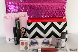 ipsy glam bag october 2012 beauty flawed