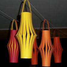 How To Make Paper Light Lanterns - how to make paper lanterns diy decorations