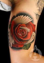 unfassbar originelle rosen tattoos u2013 tattoo spirit