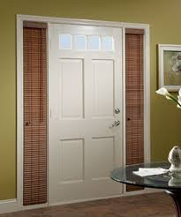 Wood Blinds For Windows - sidelight blinds for front door faux wood