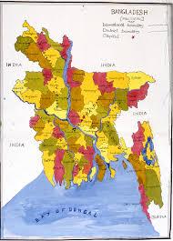 Map Of Bangladesh Bangladesh Pbd Children U0027s Art Museum